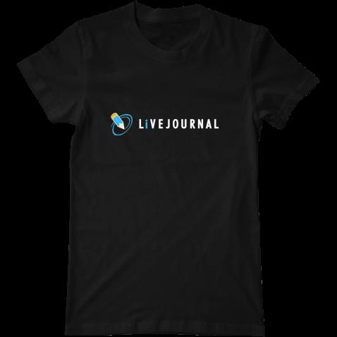 Мужская футболка LiveJournal от интернет-магазина hipster.vmayke.org