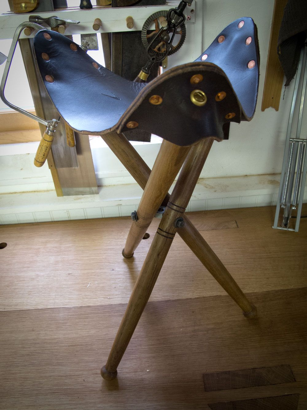 Make Your Own Tri Bolt For A Folding Stool Making Things