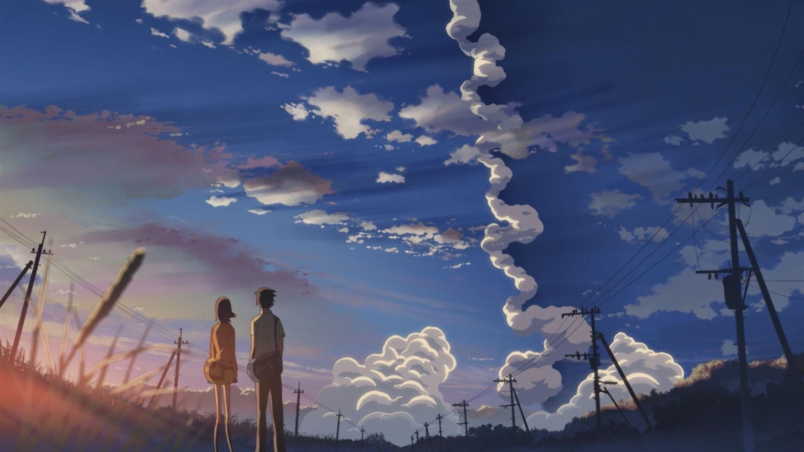 5 Centimeters Per Second Wallpaper Anime Scenery Chill Mix Anime