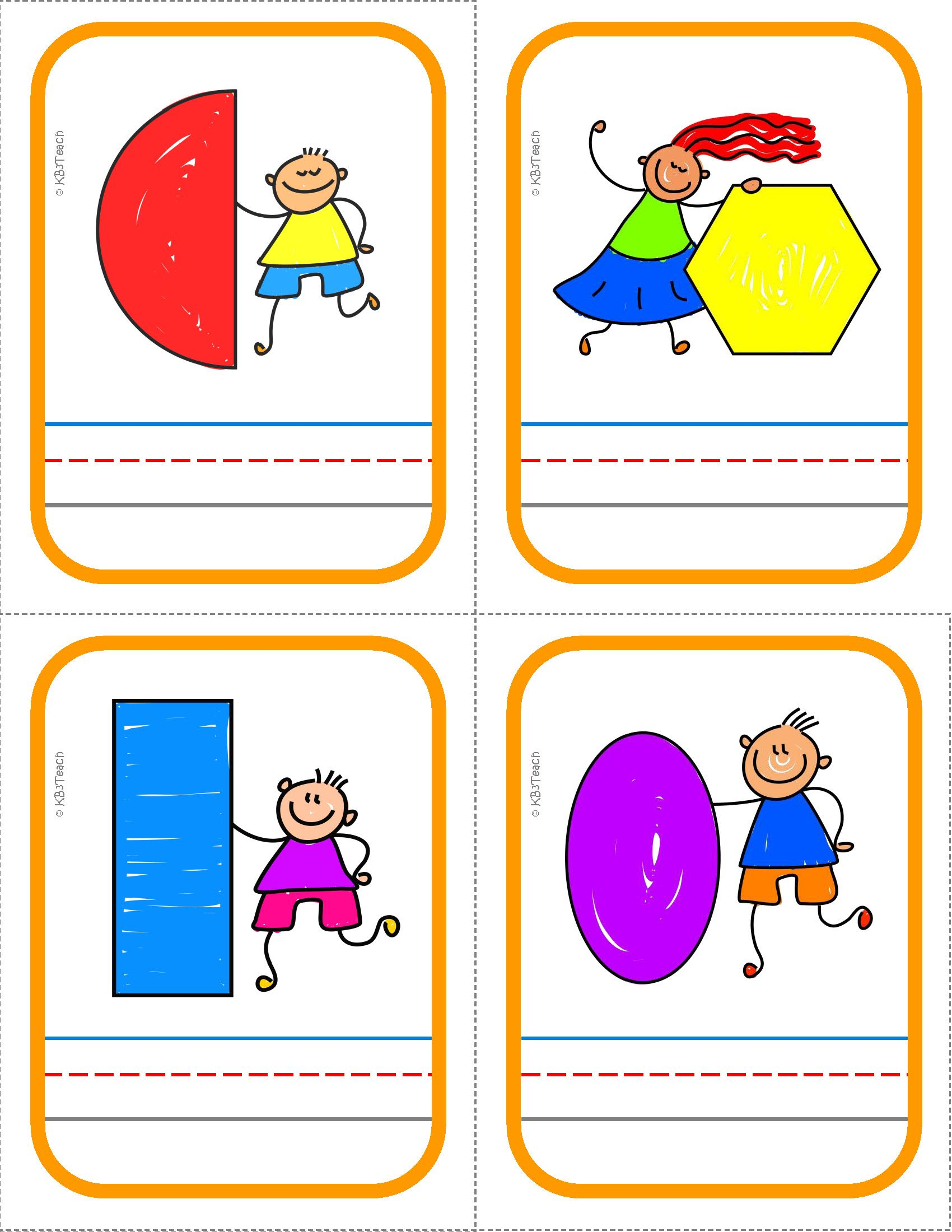 Shapes Posters Flashcards And Write Amp Wipe Cards K G A 2