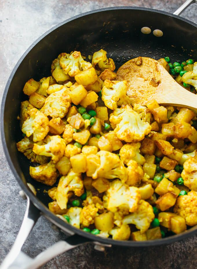 Cauliflower curry with potatoes is one of my favorite spicy dry cauliflower curry with potatoes is one of my favorite spicy dry curries its a fast indian food recipeseasy forumfinder Choice Image
