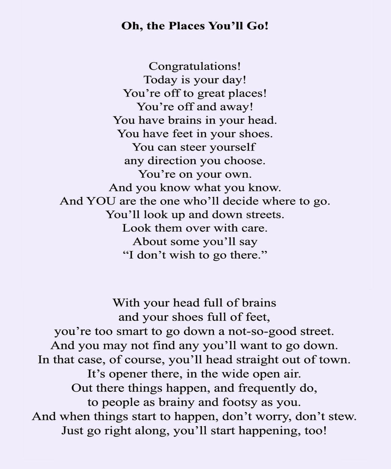 Image Result For Elementary Graduation Poems