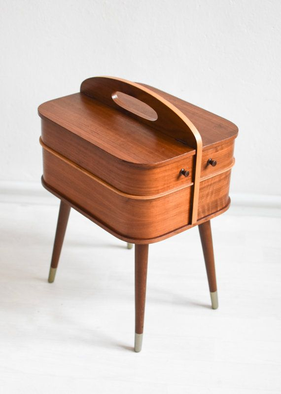 30d948d81 This is actually a wooden sewing basket made but it could be also used as a night  stand, a fancy jewelry box, a coffee table ...