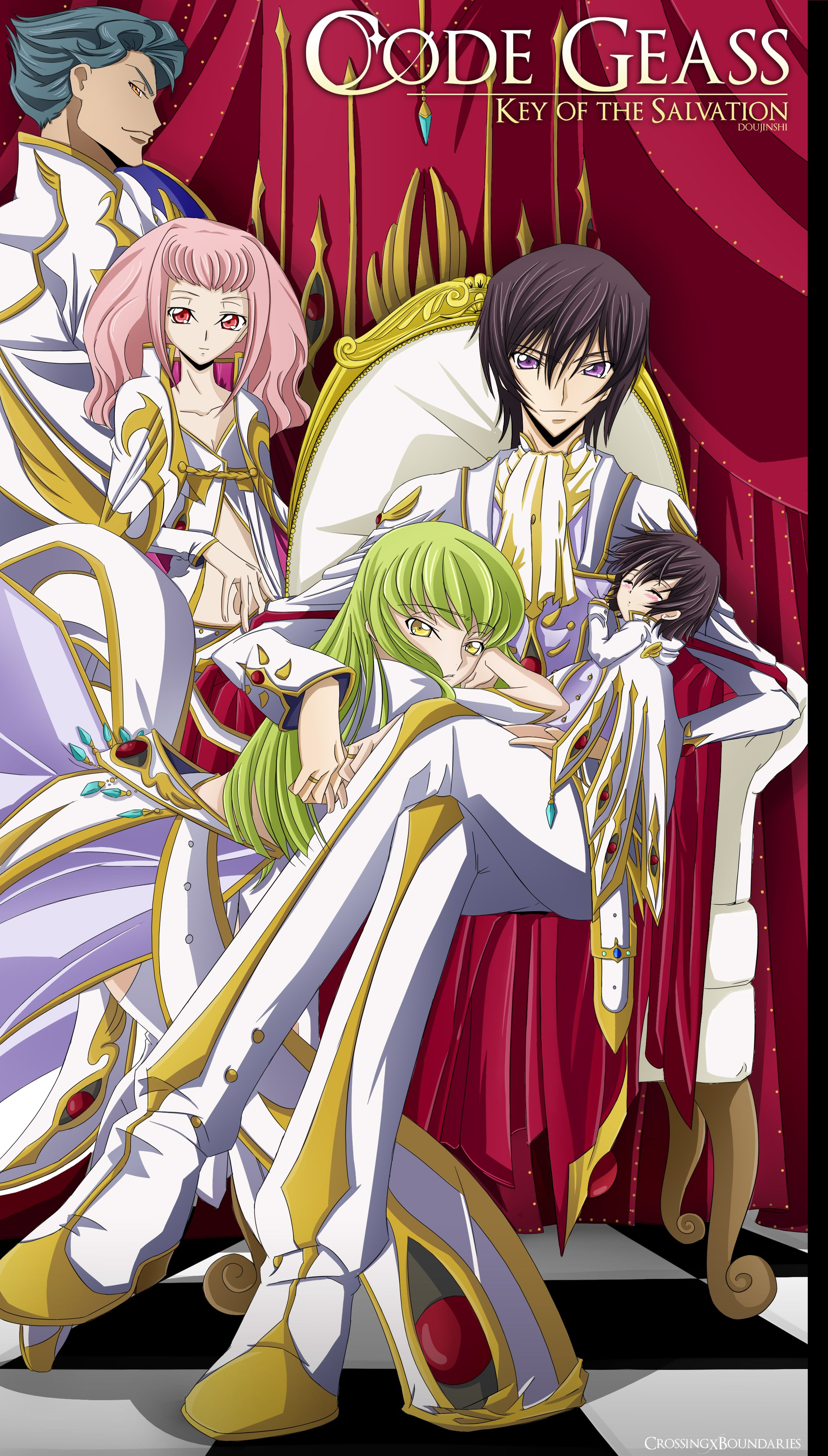 Code Geass Lelouch And Cc