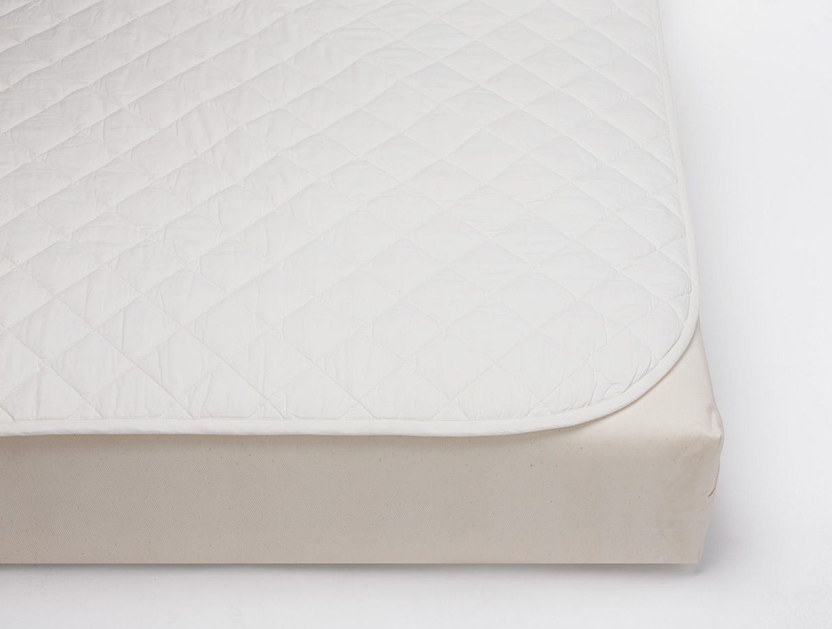 dunlop organic around mattress binding nursery cotton crib wool the edges pad latex natural strong of products