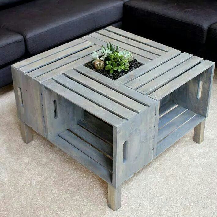 Great idea for a quick fixer table | Home | Pinterest | Bonitas ...