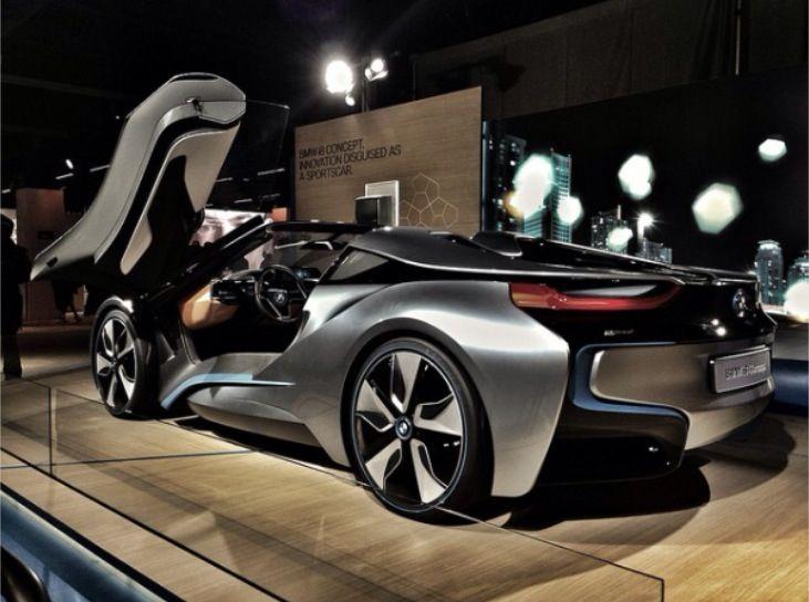 Beautiful BMW i8 ConceptZ Sports Cars