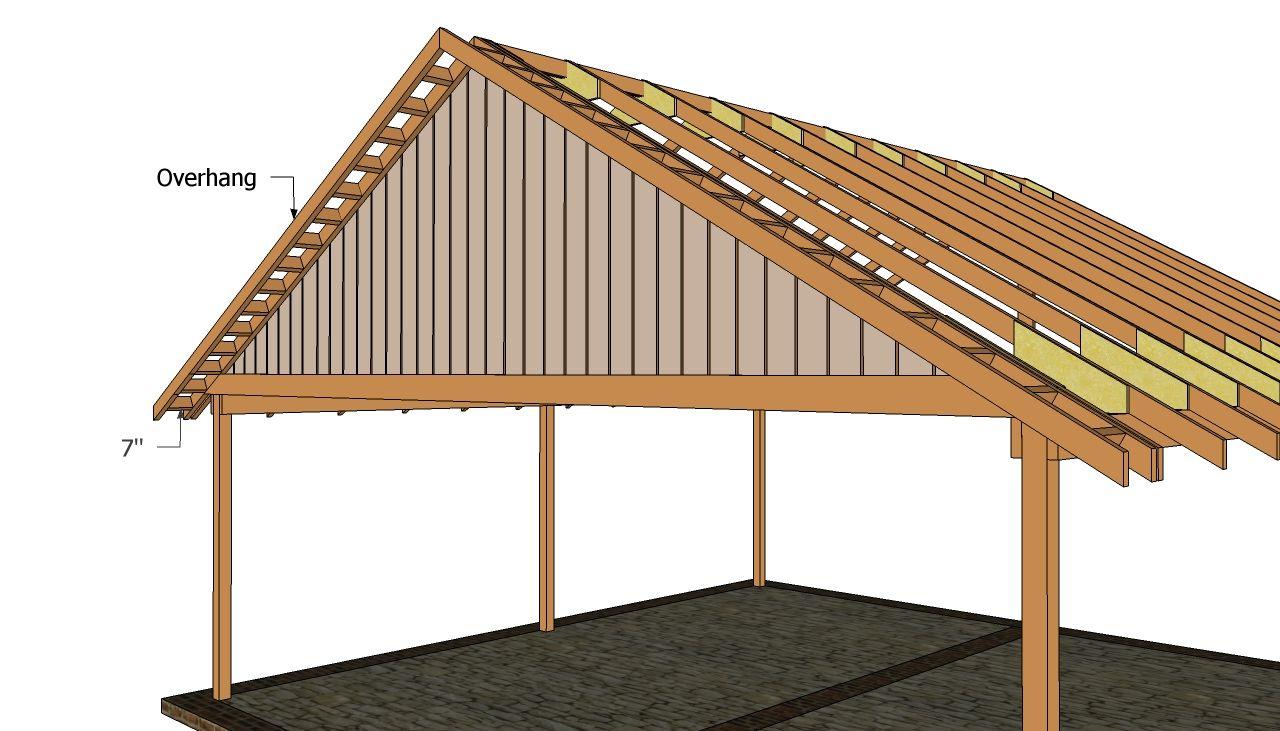 Double carport Carport plans, Double carport