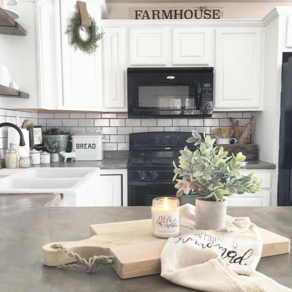 diy ardex feather finish concrete countertops farmhouse style kitchen cabinets kitchen island on farmhouse kitchen decor countertop id=34123