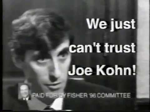 Election Campaign Ads: Bill Clinton and D  M  Fisher