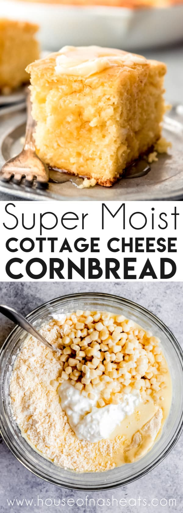 There Is A Not So Secret Ingredient To This Cottage Cheese Cornbread Recipe That Sets It Apart F In 2020 Cottage Cheese Recipes Best Cornbread Recipe Best Bread Recipe