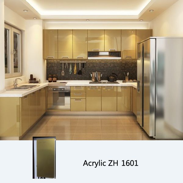 Kitchen Design High Gloss: High Gloss Acrylic Kitchen Cabinet