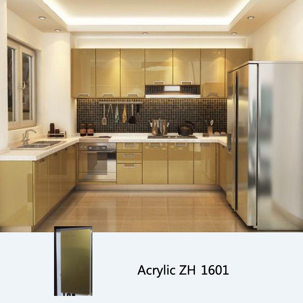 High Gloss Acrylic Kitchen Cabinet Kitchen Cabinets On A Budget High Gloss Kitchen High Gloss Kitchen Cabinets