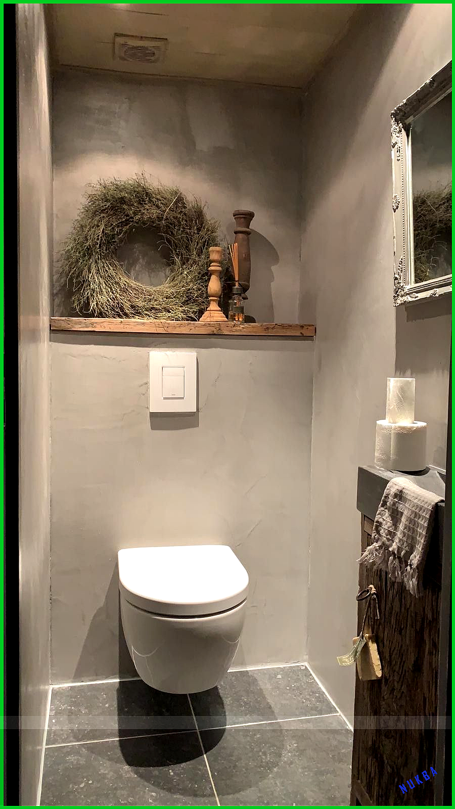 Photo of Beton cire als afwerking toiletwand. Iets voor u? – Min blogg