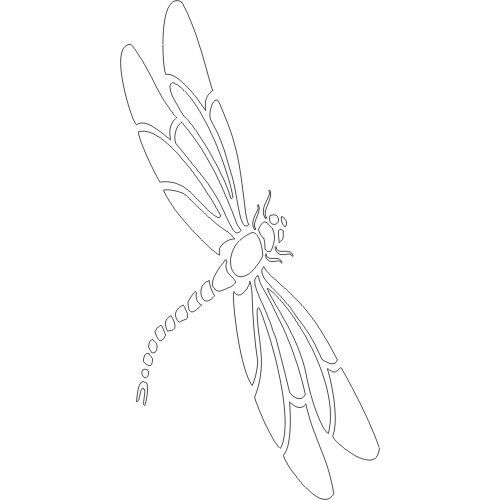 picture about Dragonfly Template Printable named Pin upon Printables Pretties