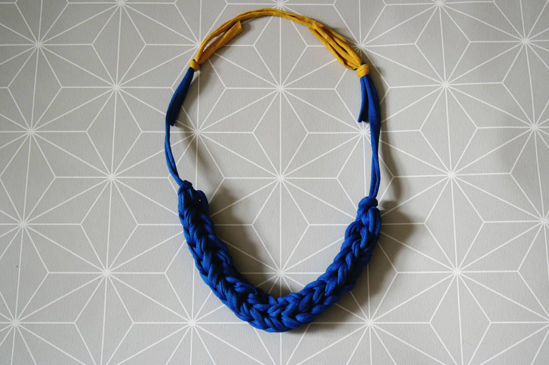Craft - DIY Crochet Cord Necklace | Whimseybox