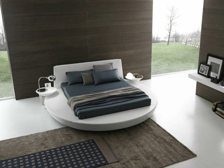 Rundes Bett Wie Man Es In Sein Inneres Integriert In 2020 Runde