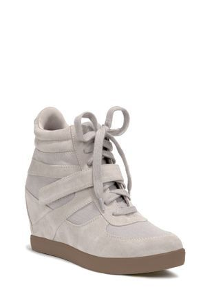 409b855fee39 White medium height ankle boot wedges. Find your amazing deals for all your  fashion needs!