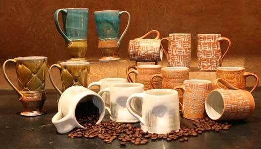 Lisa Stinson's amazing ceramics...