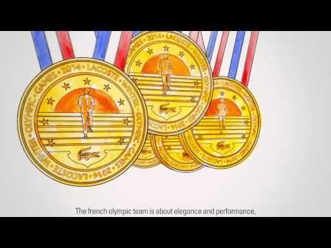 Lacoste, partenaire officiel de l'équipe de France olympique