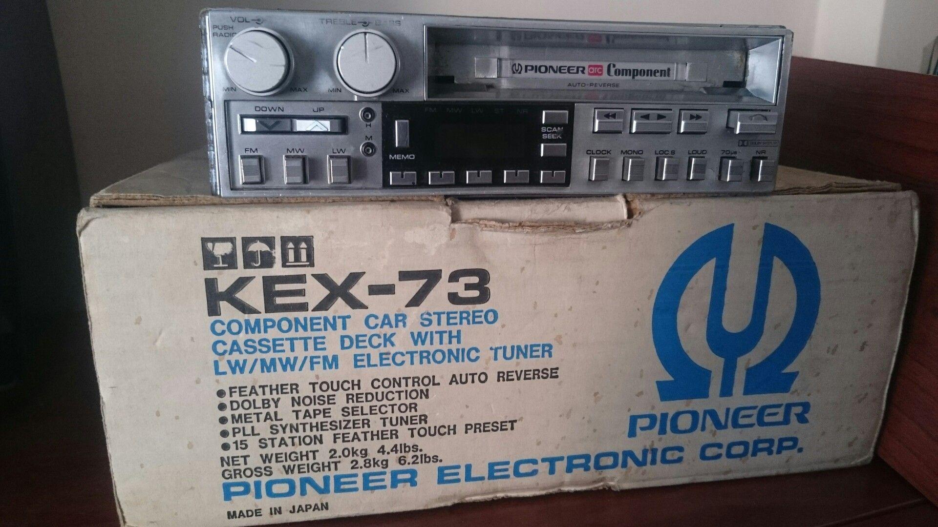Vntage kex 73 poneer car stereo pinterest vntage kex 73 fandeluxe Gallery