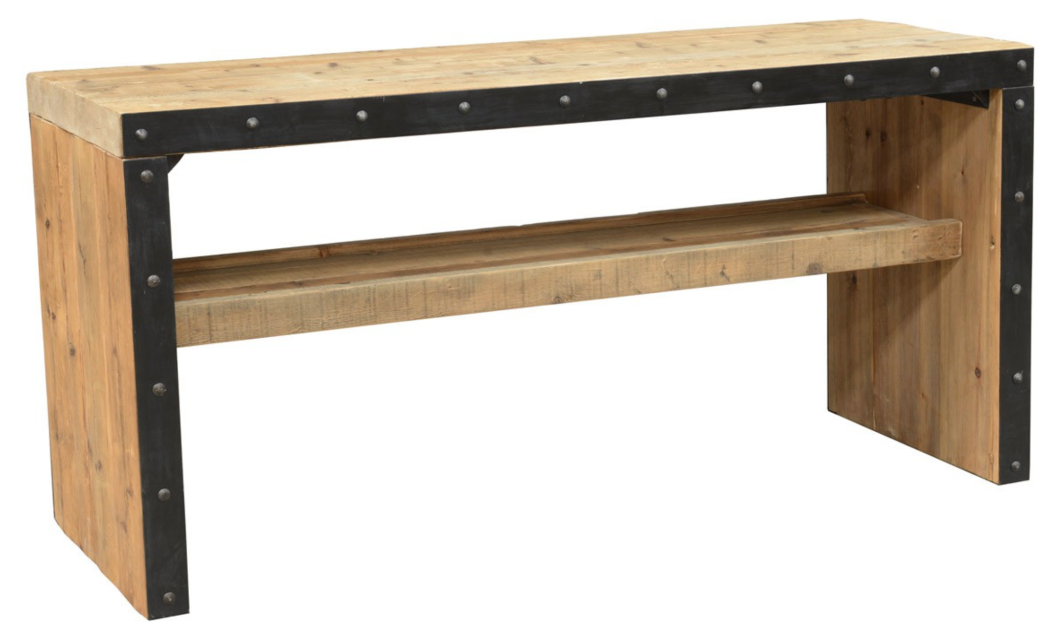 The Wade Gathering Table is stunning with its solid reclaimed pine ...