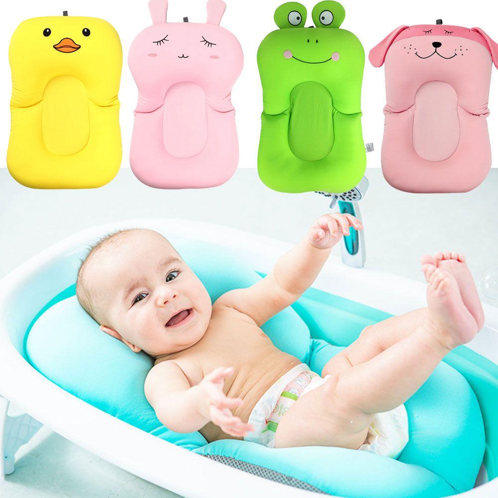 Non Slip Bathtub Mat For Newborn With Safety Security Bath Seat