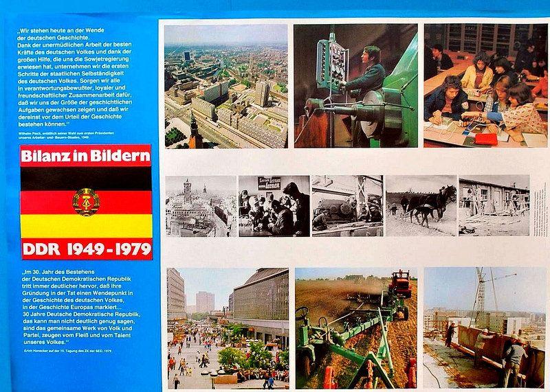 30 Jahre DDR,Propaganda