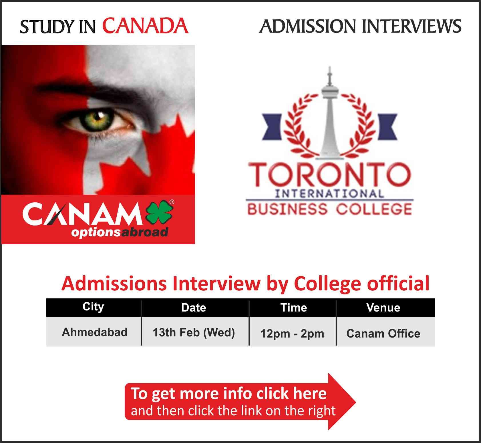 Study in Canada Toronto International Business college