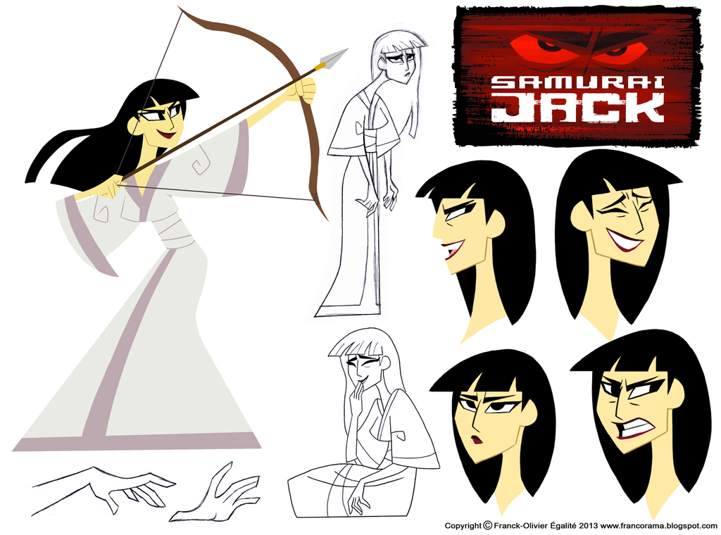 Character Design Assignment Two Samurai Jack By Chillyfranco