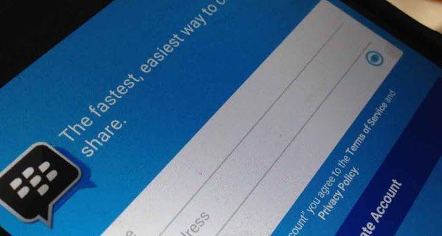 Langkah Cara Buat Masuk Bbm Cara Membuat Akun Bbm Dengan Email N