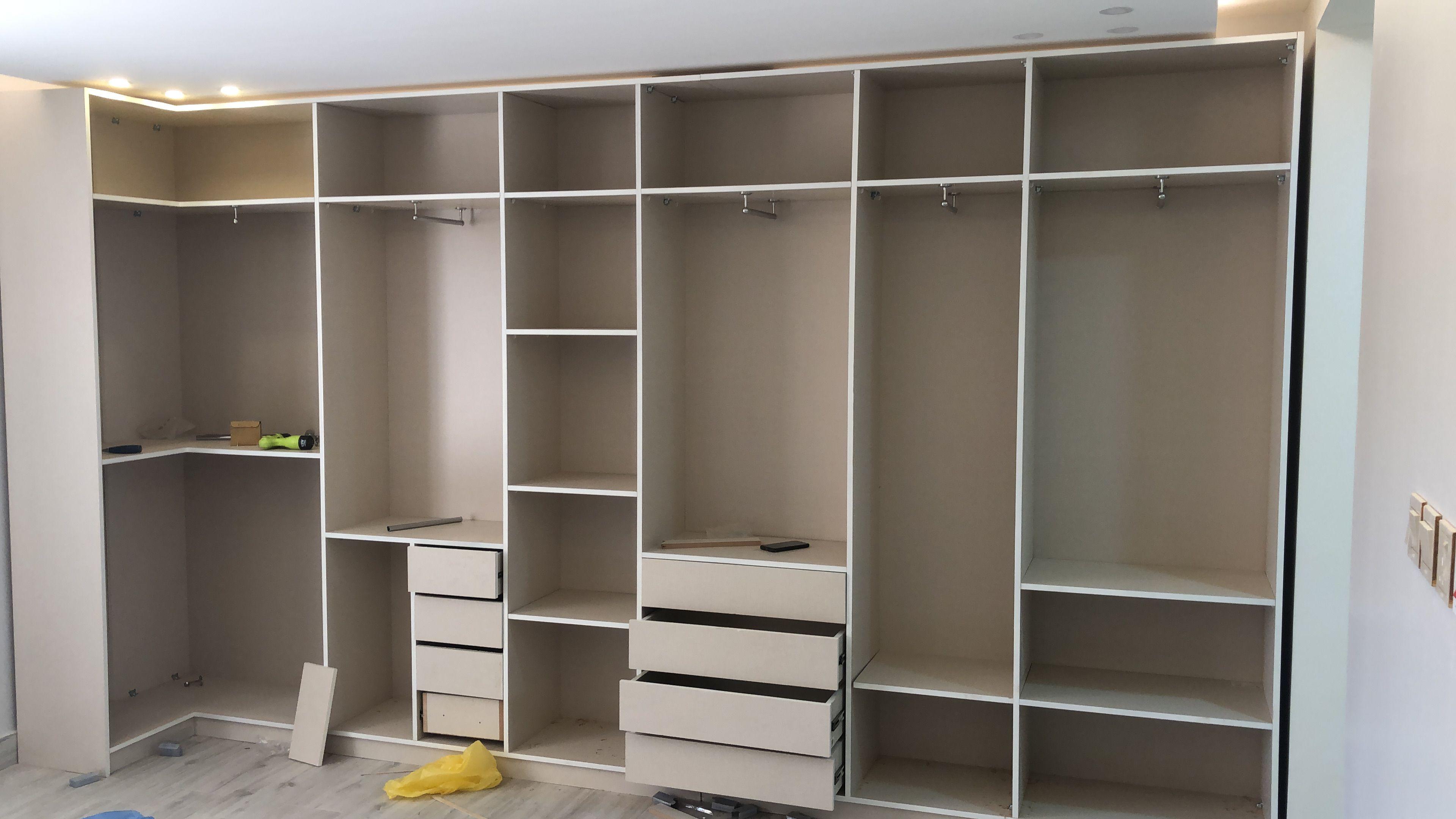 دولاب ملابس بدون باب Shelving Unit Shelving Shelves