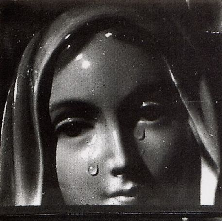 Weeping Madonna of Syracuse, Sicily, 1953 ~ This plaster ...