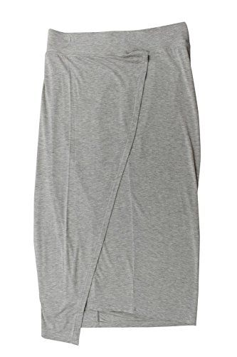DKNY Jeans Women's Faux Wrapped Skirt Grey M >>> Learn more by visiting the image link.
