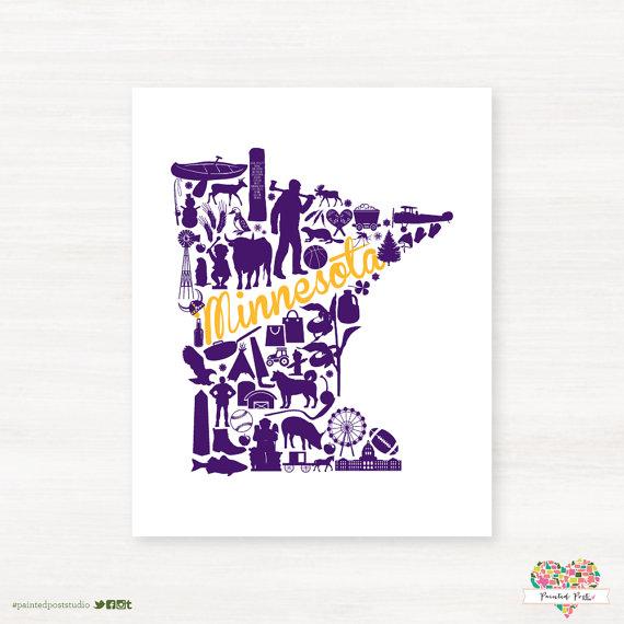 Minnesota Vikings Minneapolis Minnesota Landmark State