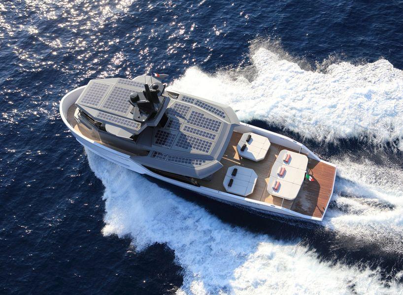 arcadia yachts sherpa is an award winning solar-powered boat