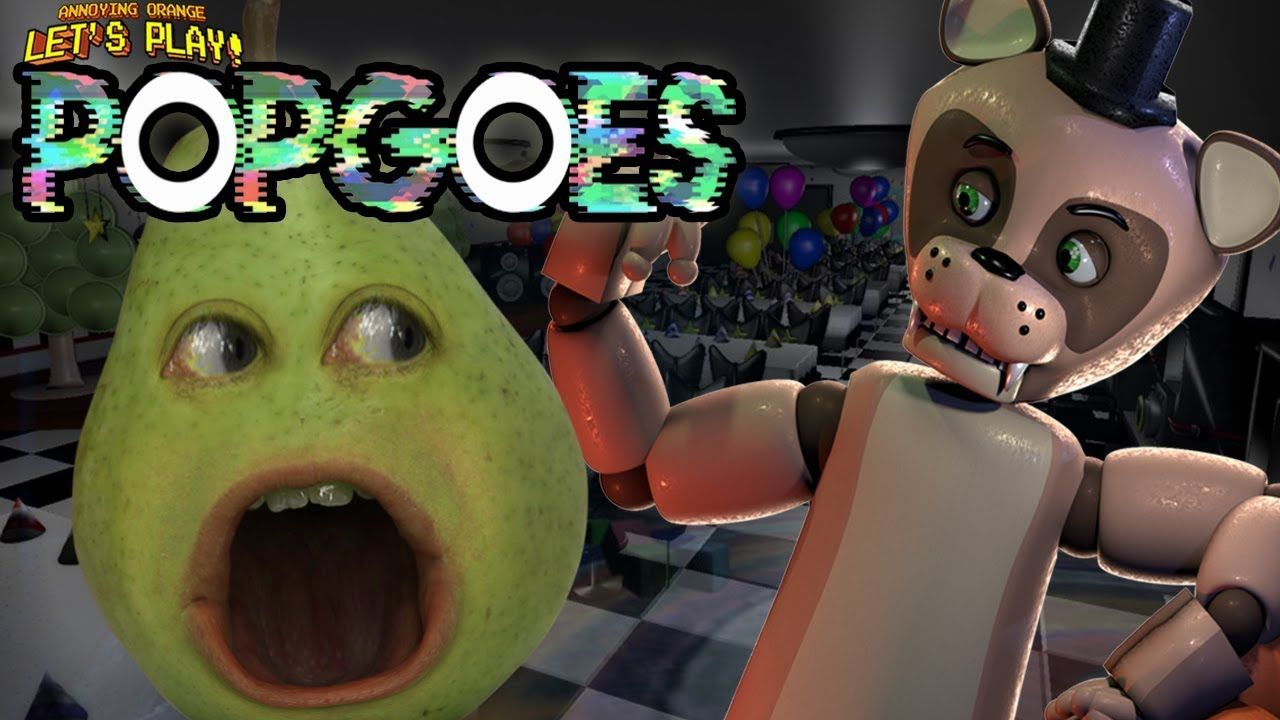 popgoes pear forced to play shocktober annoying orange gaming