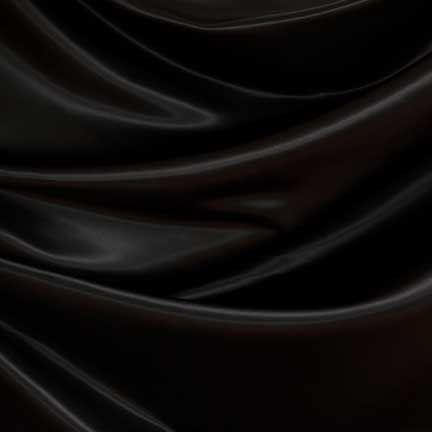 Elegant Black Satin Table Linen