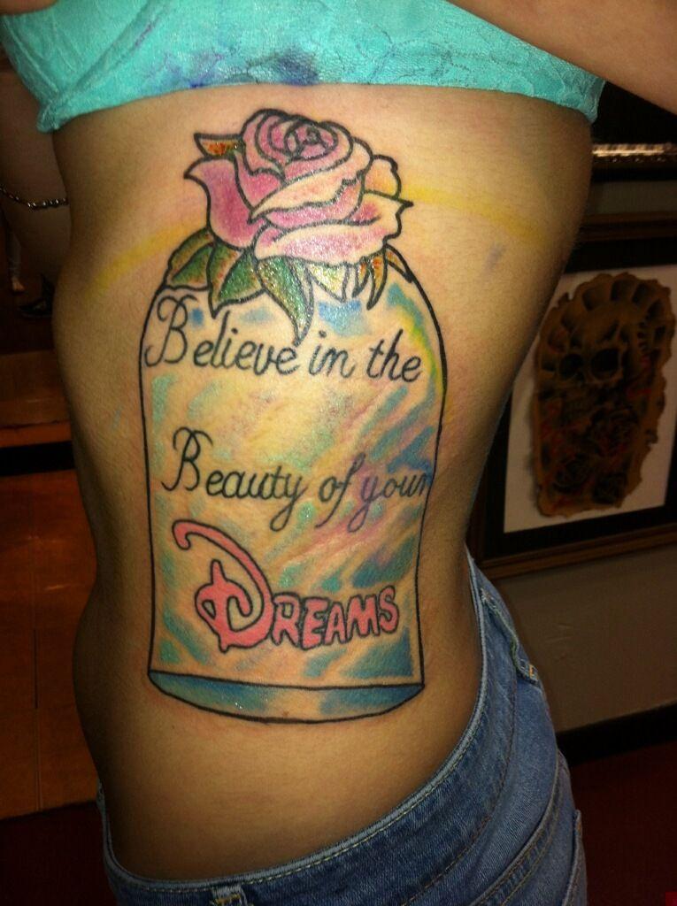 Beauty and the beast tattoo | Beauty and the beast tattoo ...