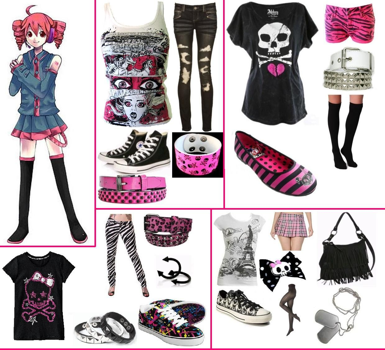 Kasane teto anime outfits cosplay outfits character