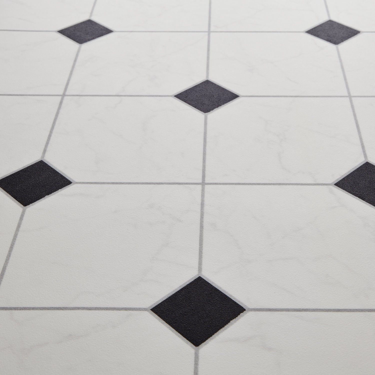 Bounce 97 scapa black stone tile effect vinyl flooring for Black vinyl floor tiles