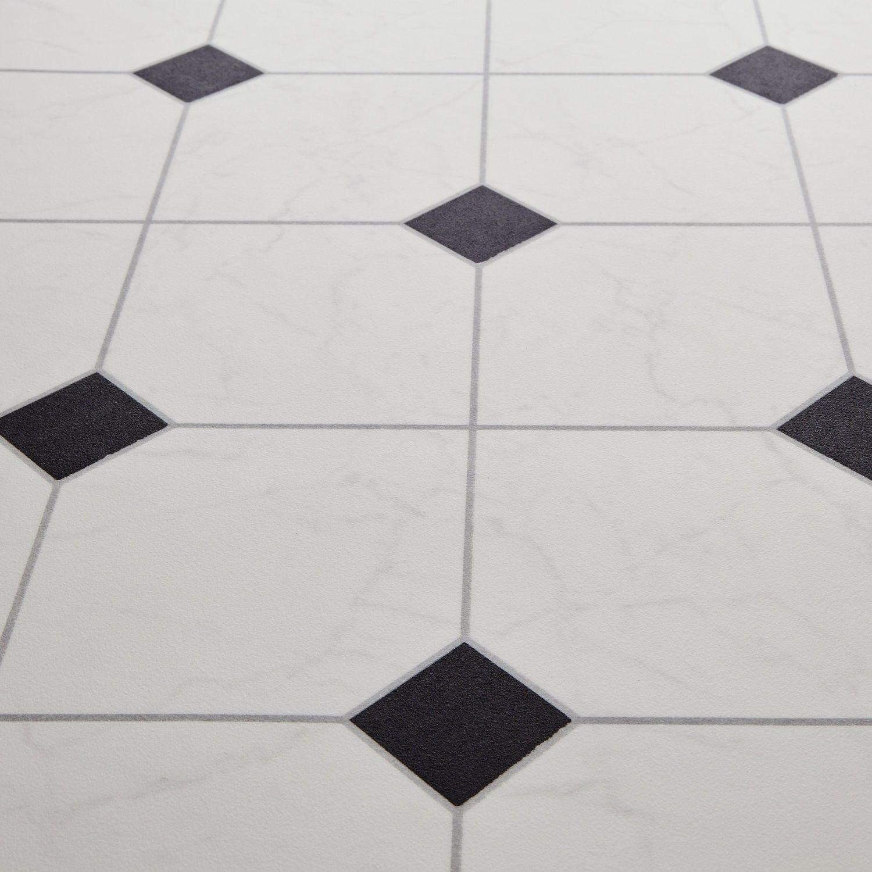 black and white diamond tile floor. Bounce 97 Scapa Black Stone Tile Effect Vinyl Flooring And White Diamond Floor
