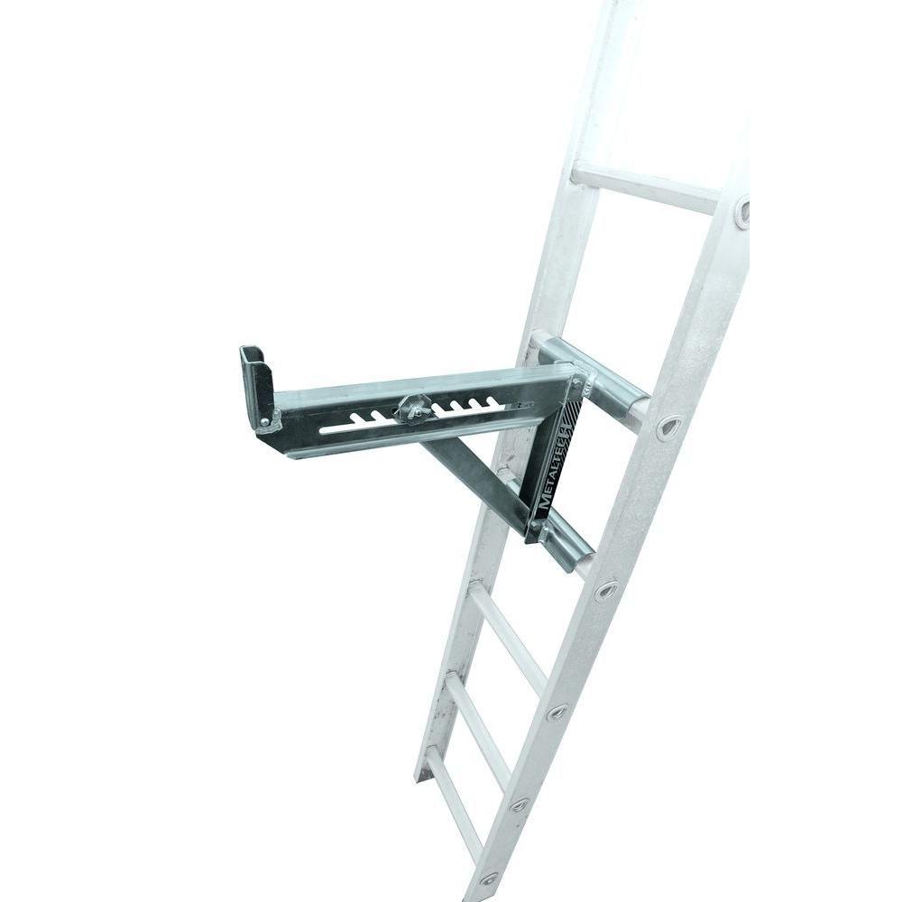 Metaltech 2 Rung Ladder Jacks E Lj20p Ladder Ladder Accessories Home Depot