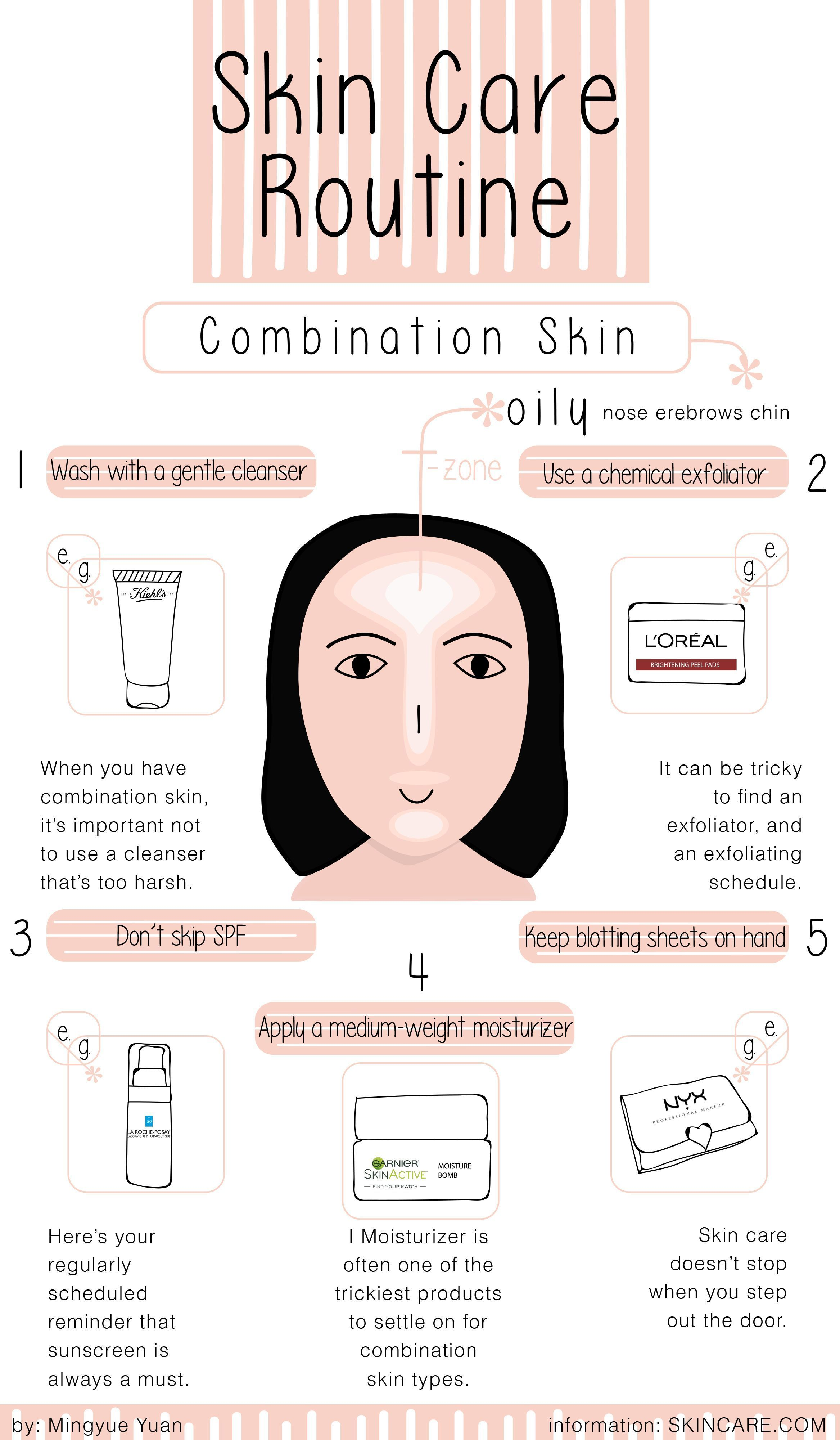 The Best Simple Skin Care Routine for Combination Skin