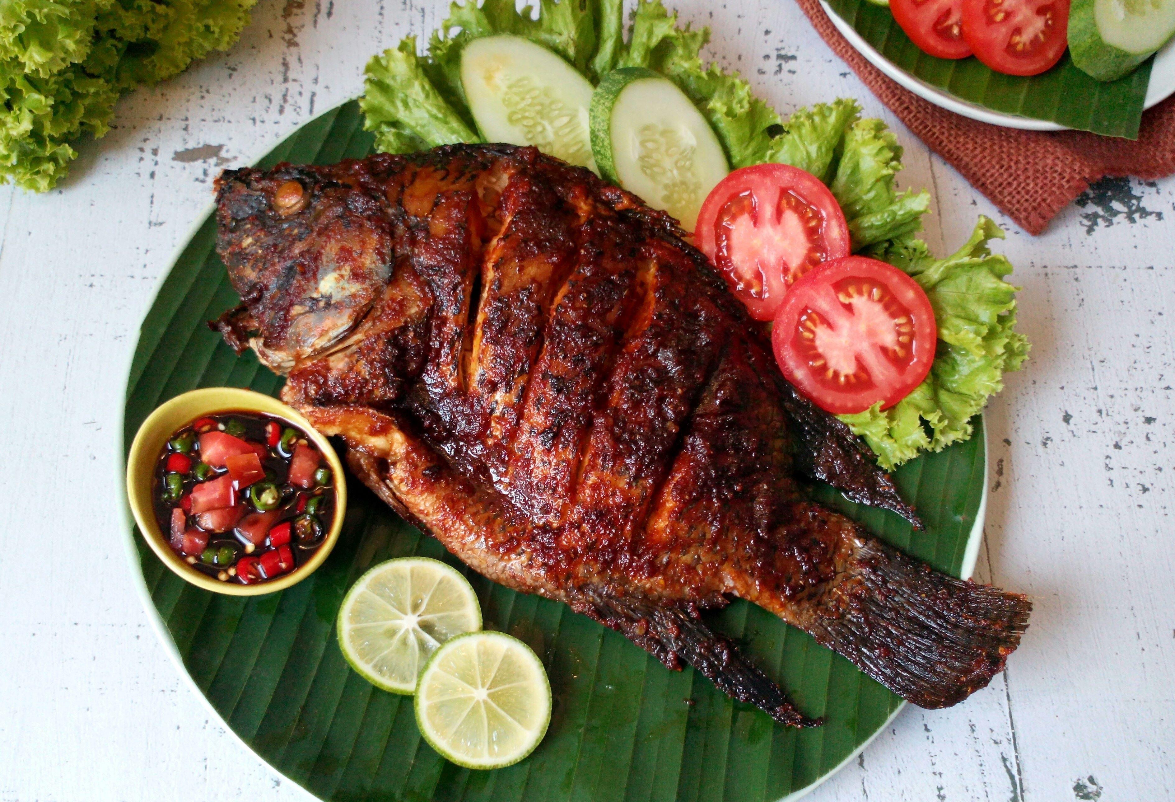 Bawal Bakar Kecap Makanasik Com Resep Resep Ikan Bakar Masakan Resep Makanan