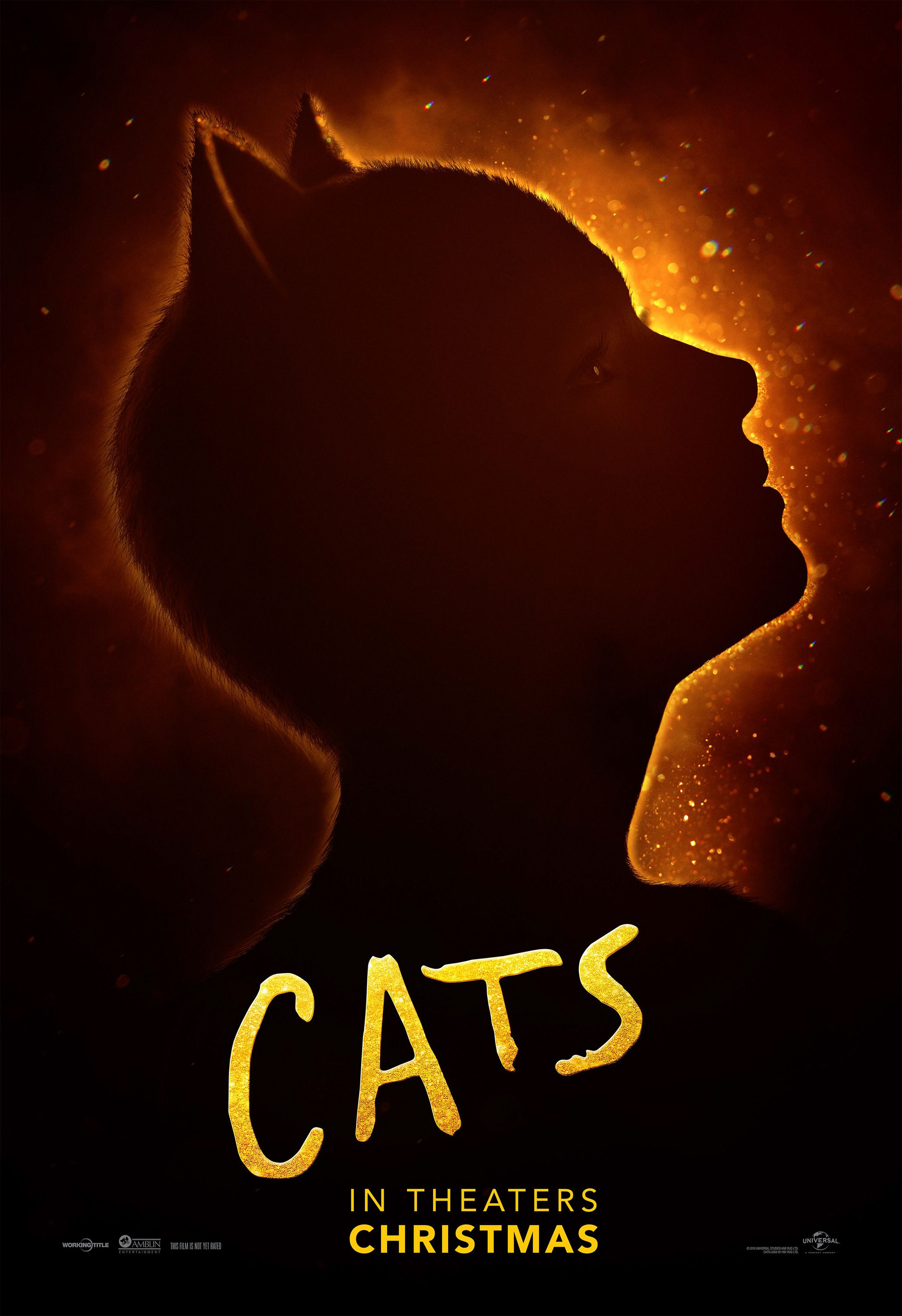 Cats 2019 Movie Posters Cat Movie Movie Posters Family Movie Poster