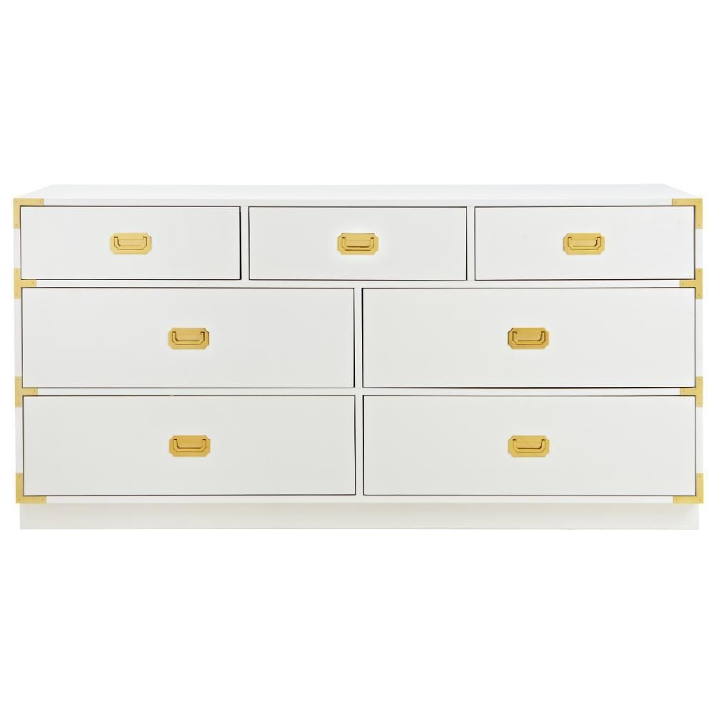 Home Decorators Collection Chatham 7 Drawer White Dresser 9966300410 White Dresser Home Decorators Collection Online Interior Design