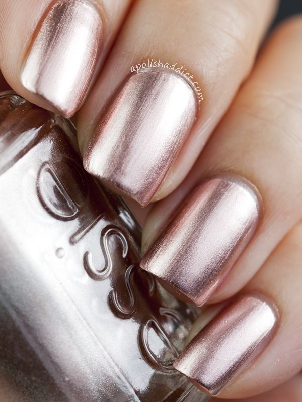 Essie Penny Talk | nails | Pinterest | Essie, Esmalte y Uñas brillantes