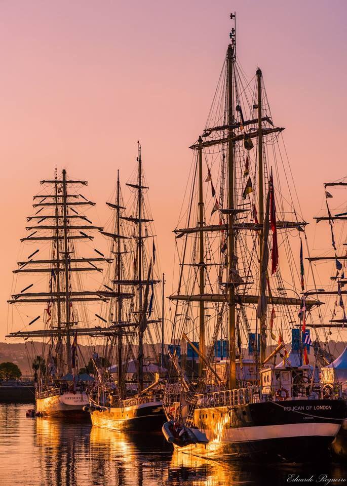 Tall Ships Race En La Coruña Tall Ships Sailing Boat