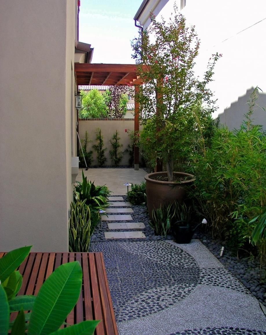 25 Popular Modern Small Side Garden Ideas Side Yard Landscaping
